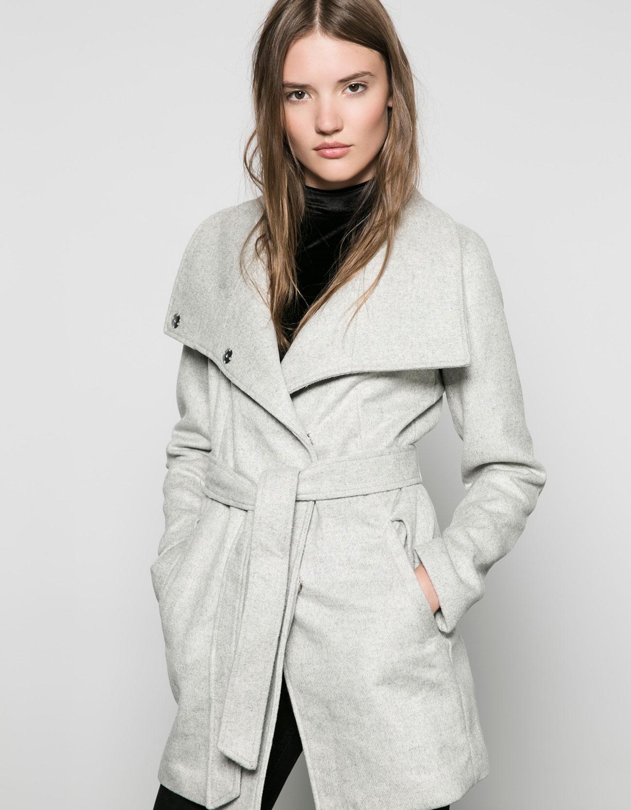 Рекомендую: Пальто, Bershka