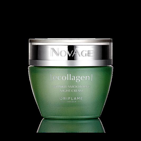 oriflame Ночной крем против морщин NovAge Ecollagen