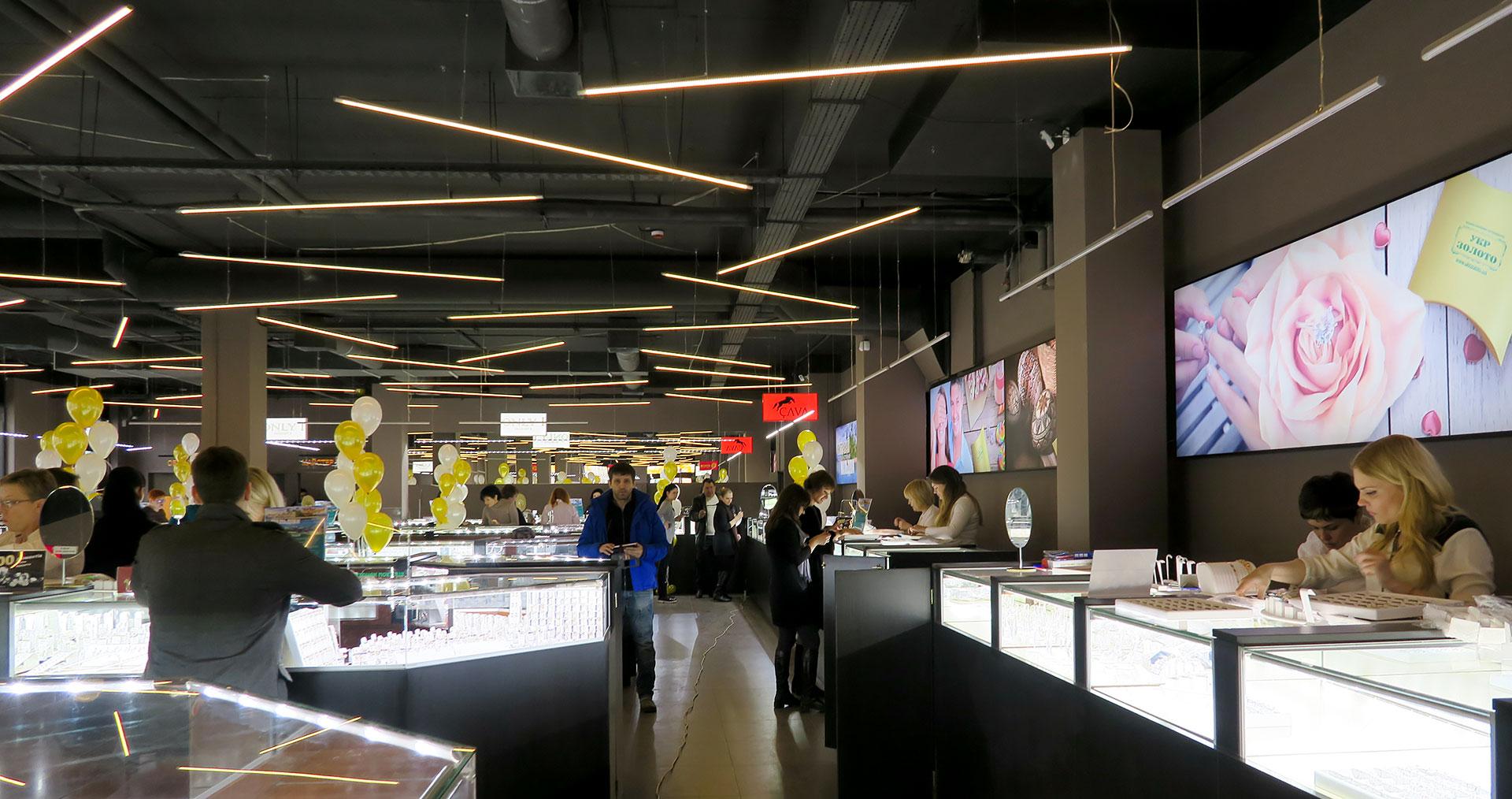 Новый ювелирный супермаркет Укрзолото на м Минская
