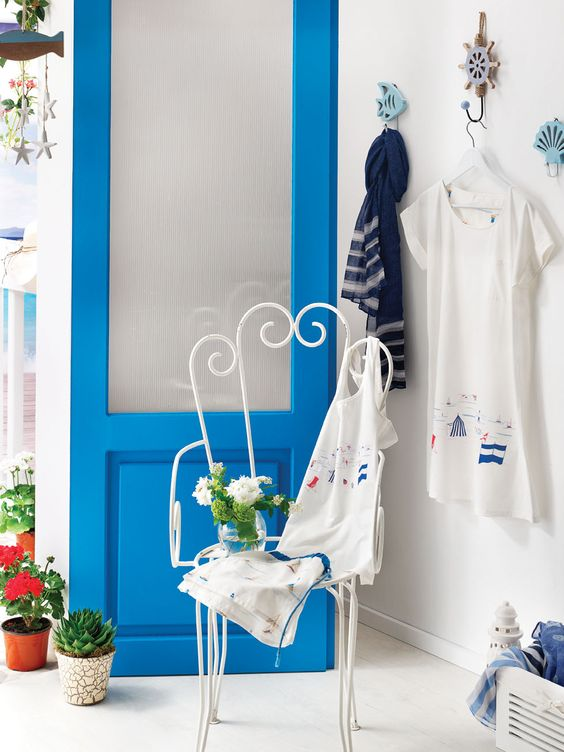 Лазурное лето в English Home: новая коллекция домашнего текстиля и аксессуаров