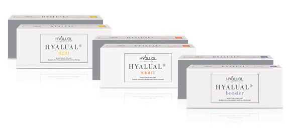 Редермализация кожи с Hyalual Smart, Hyalual Light и Hyalual Booster