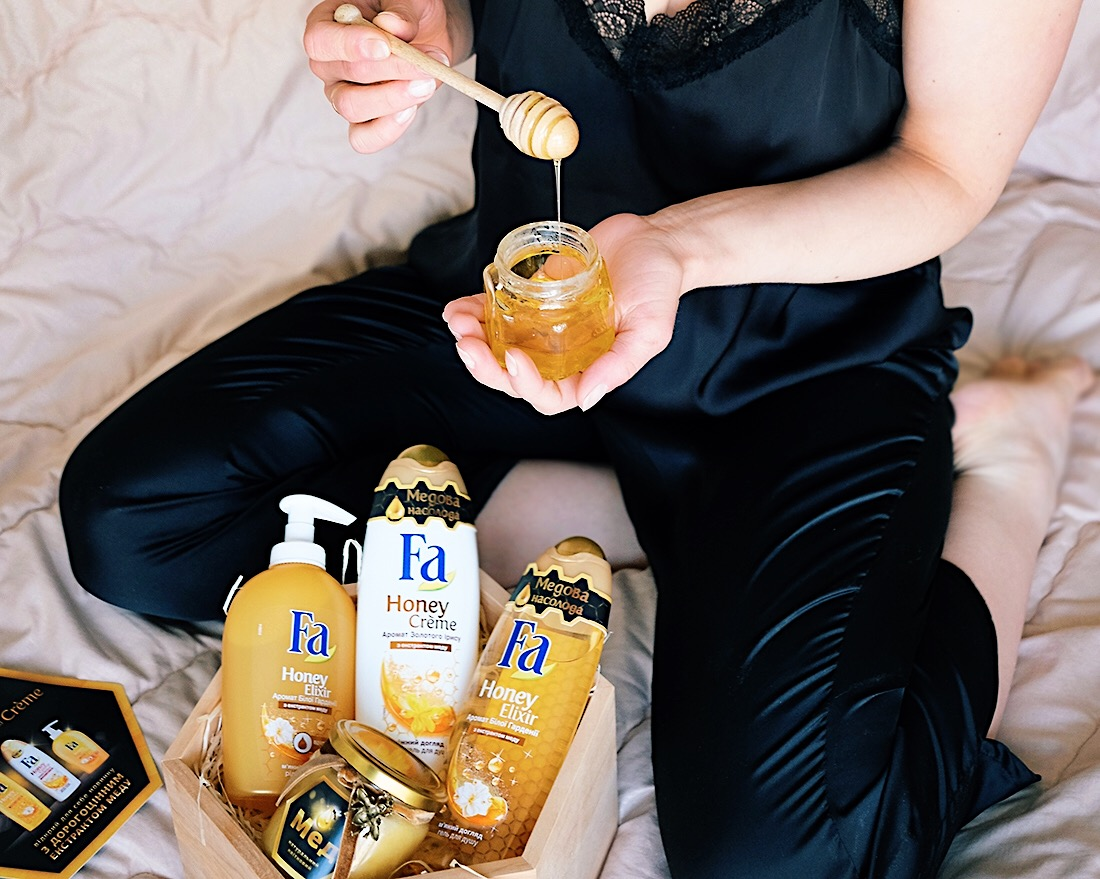 Гели для душа Fa Honey Elixir и Fa Honey Creme