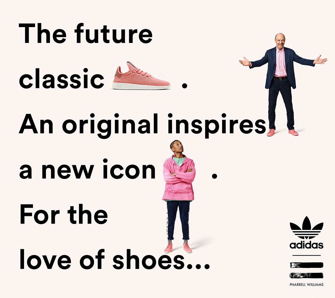 Новая коллекция adidas Originals by Pharrell Williams
