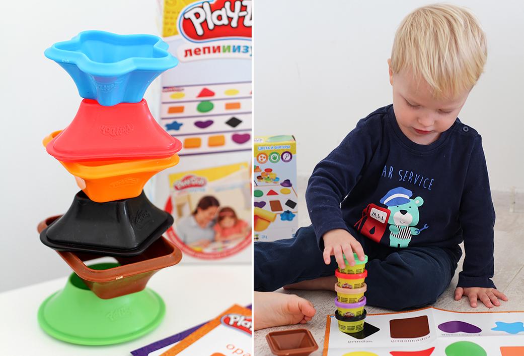 Новый набор: Play-Doh «Лепи и изучай»