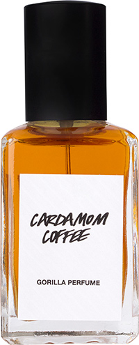 LUSH дыхание бога - cardamon coffee lush