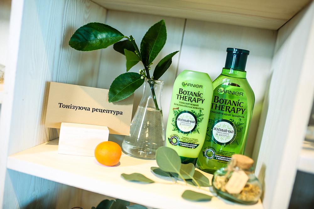 Garnier Botanic Therapy Зеленый чай, эвкалипт и цитрус