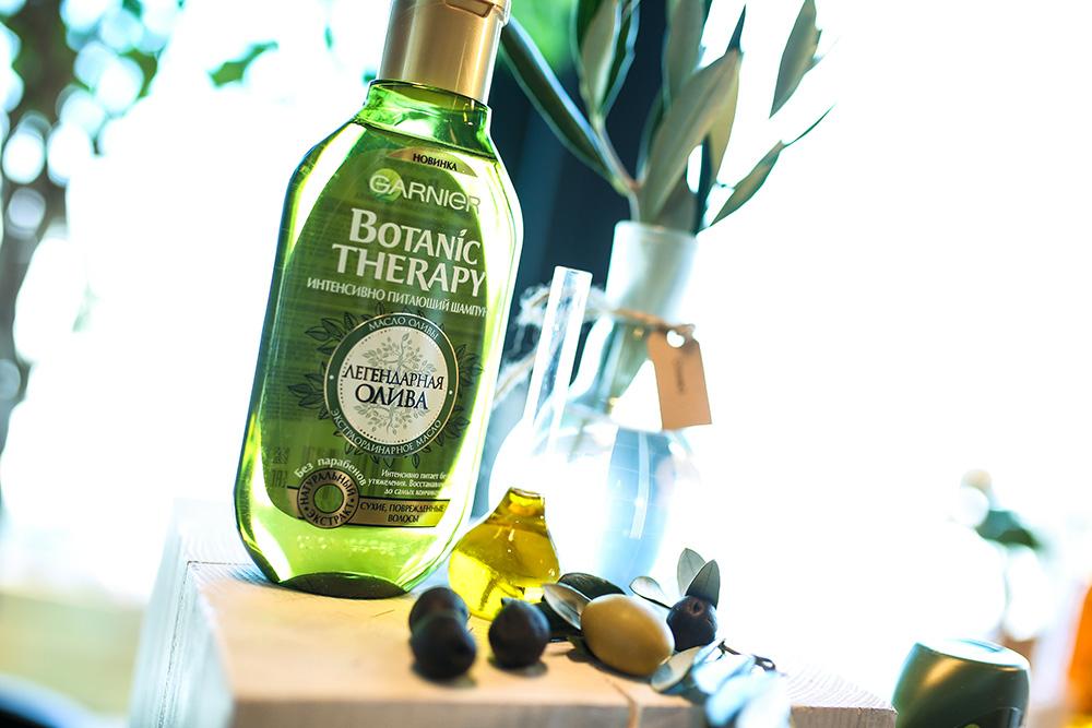 Garnier Botanic Therapy Легендарная олива