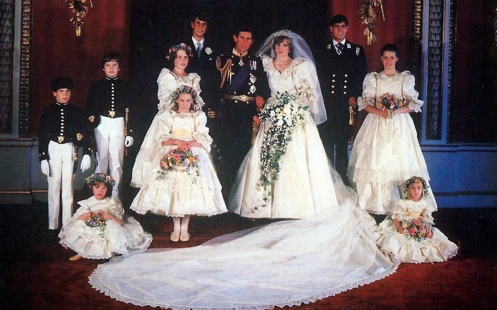 подвенечное платье принцессы дианы