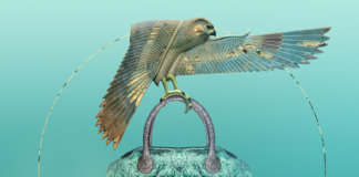 Сумки Виктории Гресь с коллажами Ксении Ха. Коллаборация с американской художницей