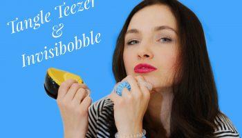 Расческа Tangle Teezer Styler и резинки Invisibobble (ВИДЕО)