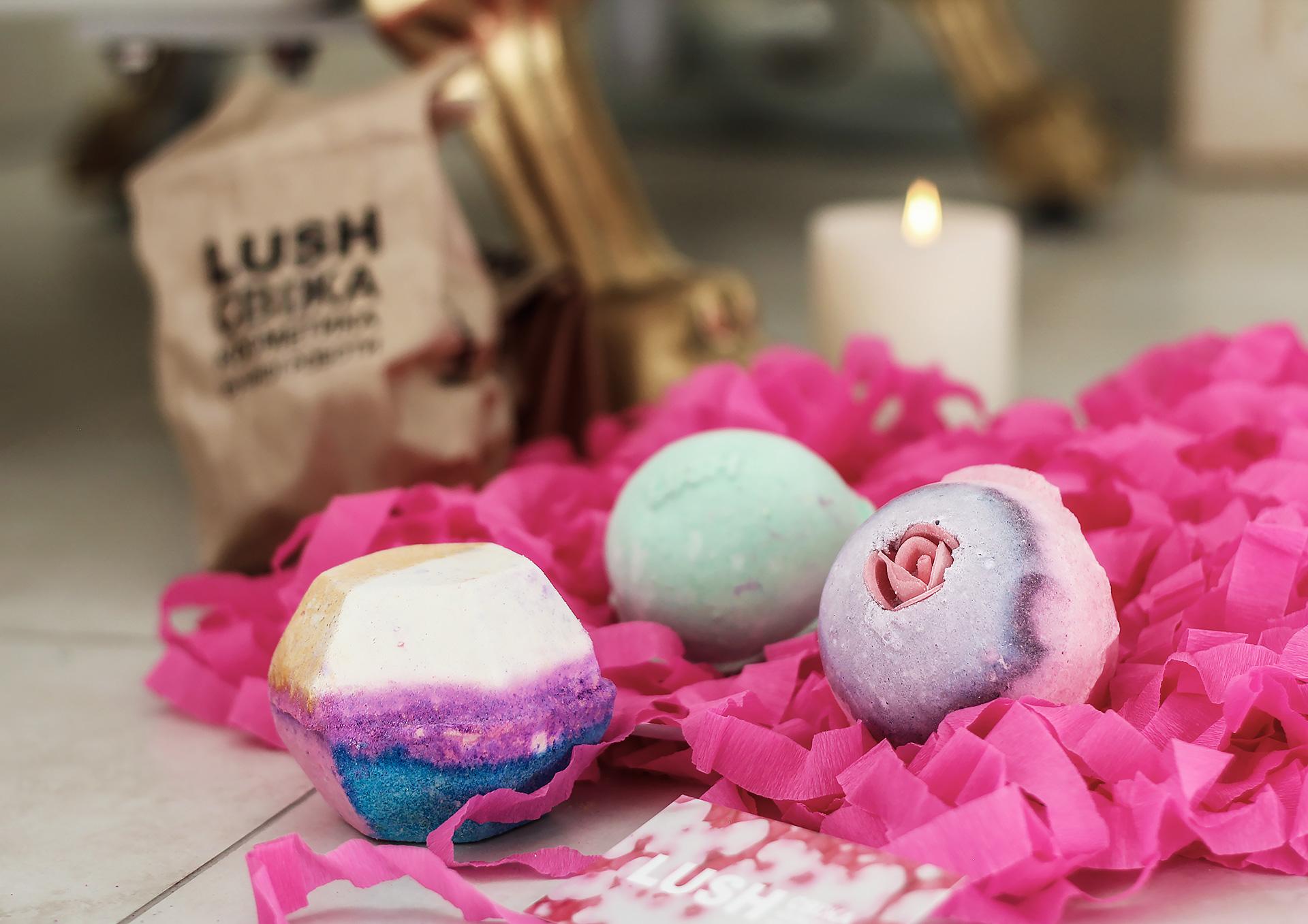 Бомбы для ванны LUSH - отзыв / Bath Bombs LUSH - review