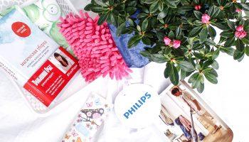 Креативная посылка от Philips и анонс пылесоса PowerPro Aqua