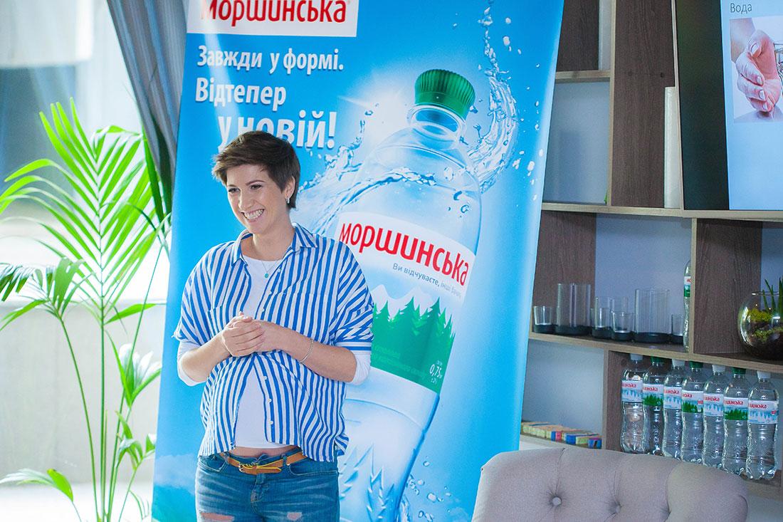 Новая форма бутылки воды Моршинская