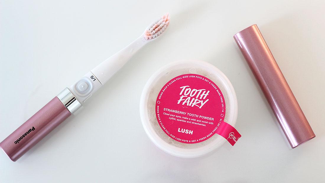 зубной порошок lush