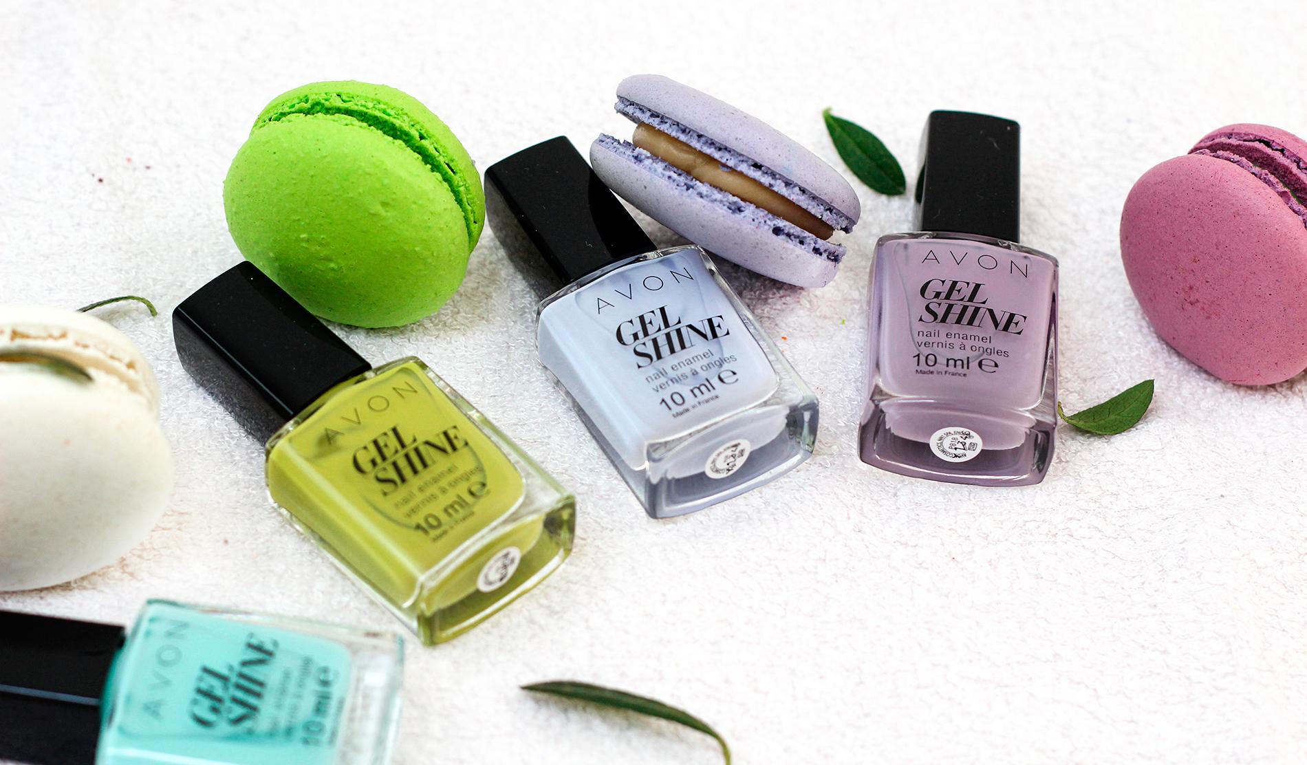 Лаки для ногтей AVON Gel Shine