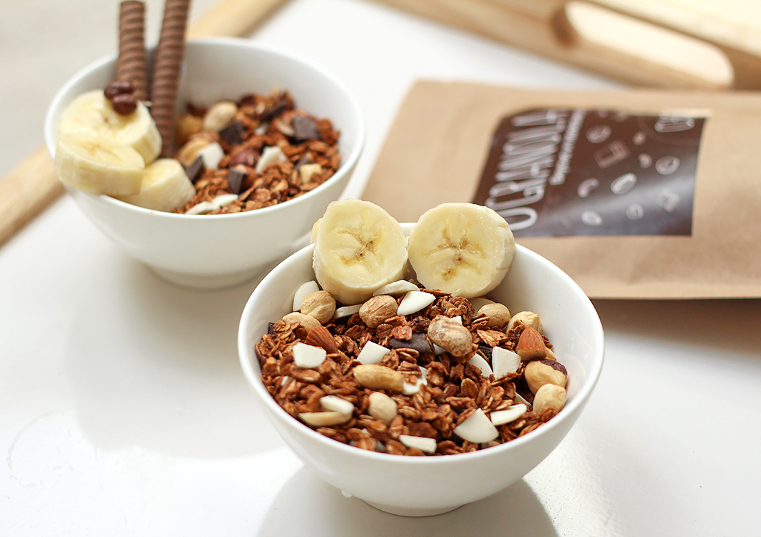 Шоколадная натуральная гранола O'Granola