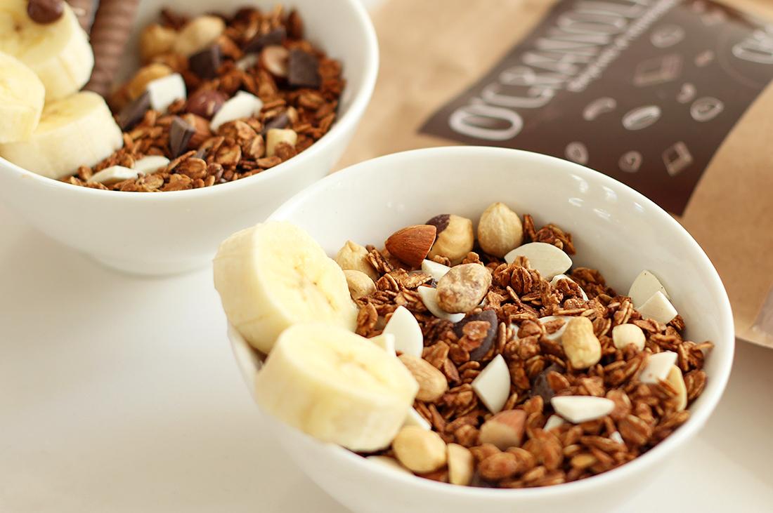 Натуральная шоколадная гранола O'Granola Choco