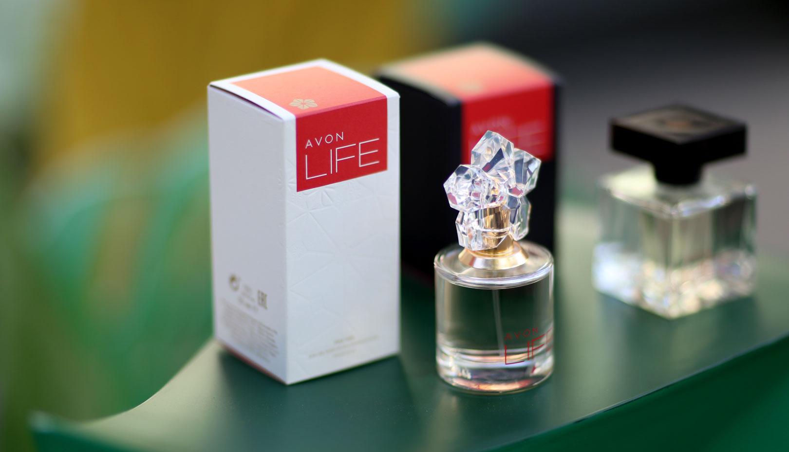 Новый аромат Avon Life с Кензо такада. эйвон лайф
