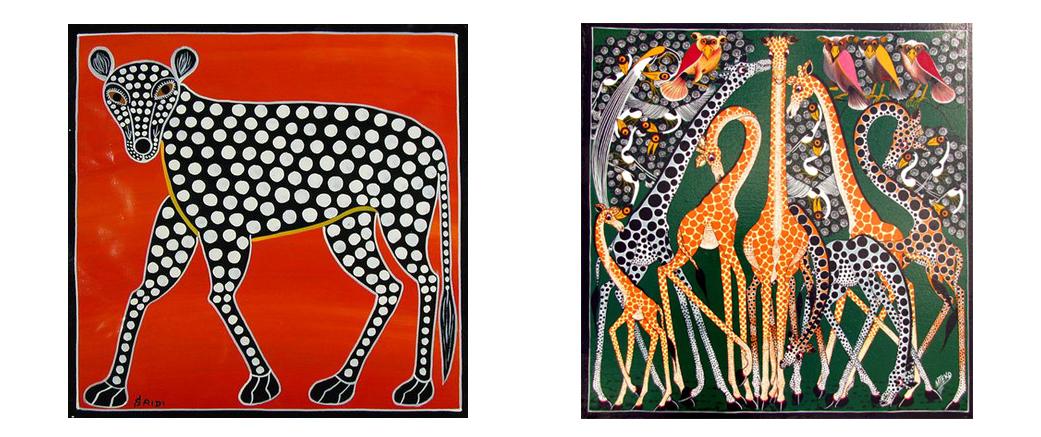 Edward Tingatinga картины