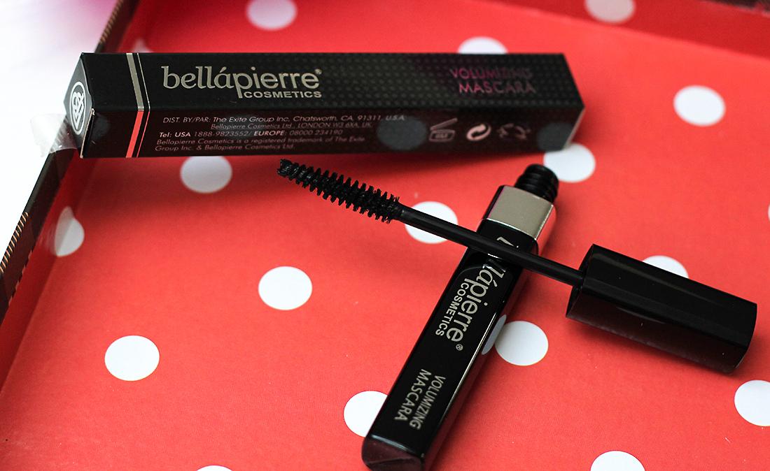 Тушь для ресниц минеральная Bellapierre Cosmetics Volumizing Black Mascara