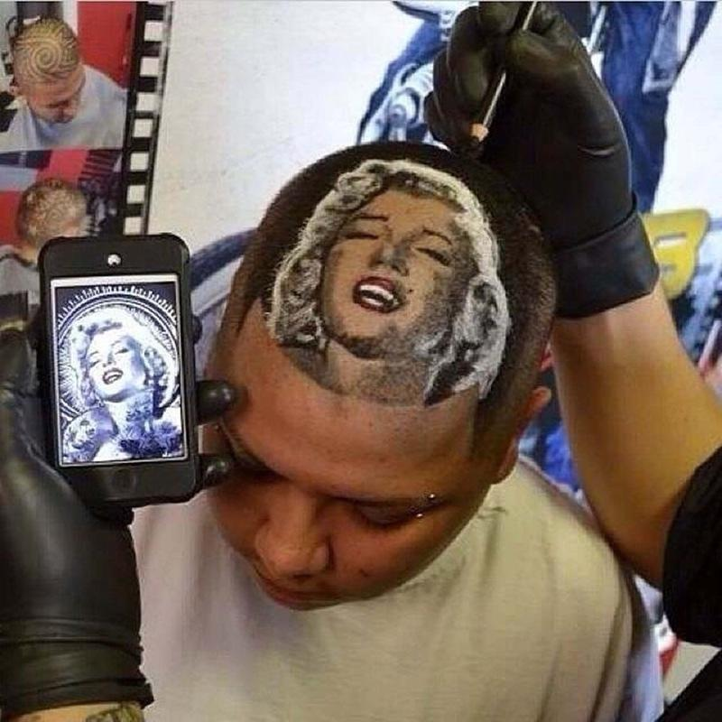 Техника Hair Tattoo