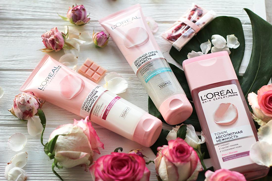 L'Oreal skin expert беконечная свежесть и абсолютная нежность