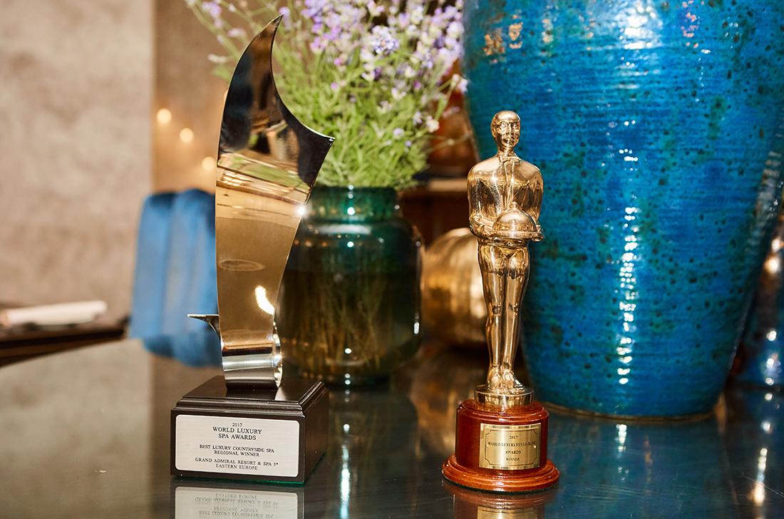 Grand Admiral Club одержал победу на World Luxury SPA & Restaurant Awards 2017