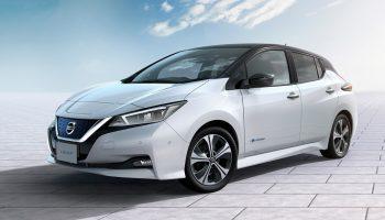 Nissan Leaf 2018: фото и характеристики нового электрокара