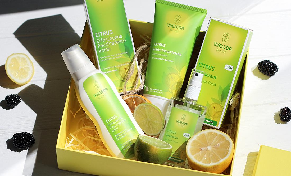 Weleda Citrus: органический дезодорант, гель для душа и лосьон для тела