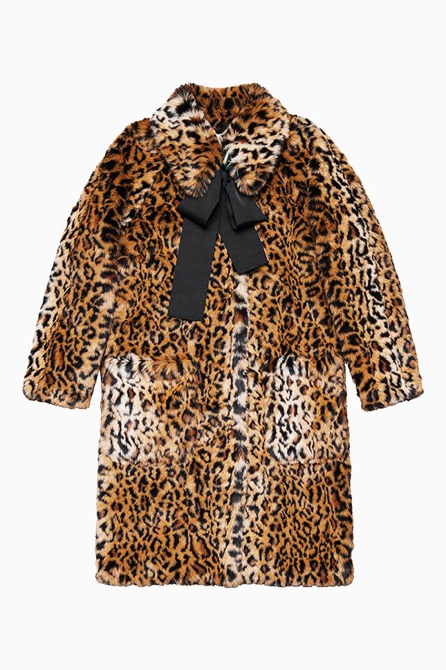 леопардовый принт леопардовая шуба