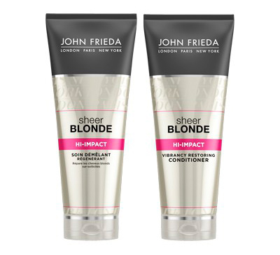 john-frieda Восстанавливающую серия для блондинок Hi-Impact