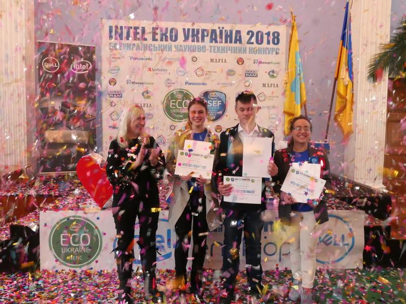 Компания Panasonic поддержала конкурс Intel Эко Украина 2018