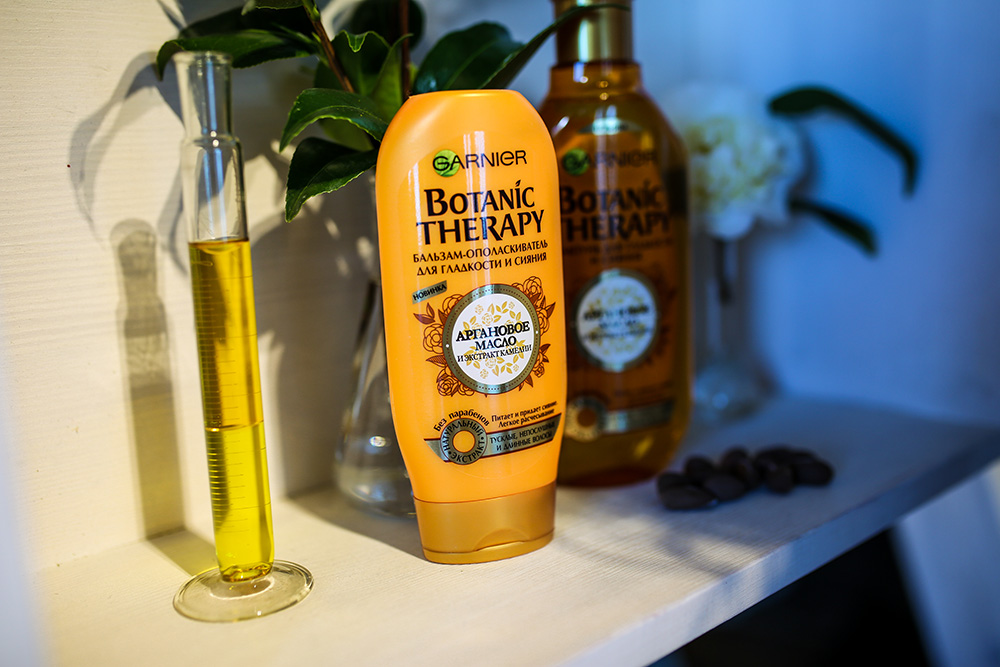 Garnier Botanic Therapy Аргановое масло и экстракт камелии