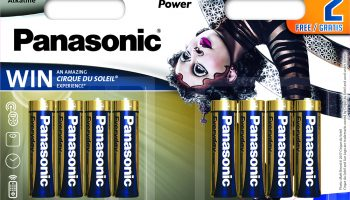 Конкурс-викторина: выиграй батарейки Panasonic eneloop!