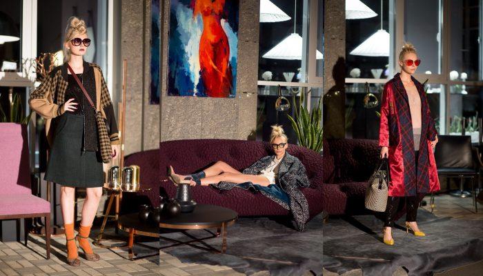 Показ новой осенне-зимней коллекции бренда Victoria Gres
