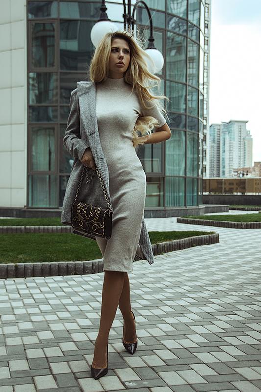 Анна Романова в осенних образах от One by One