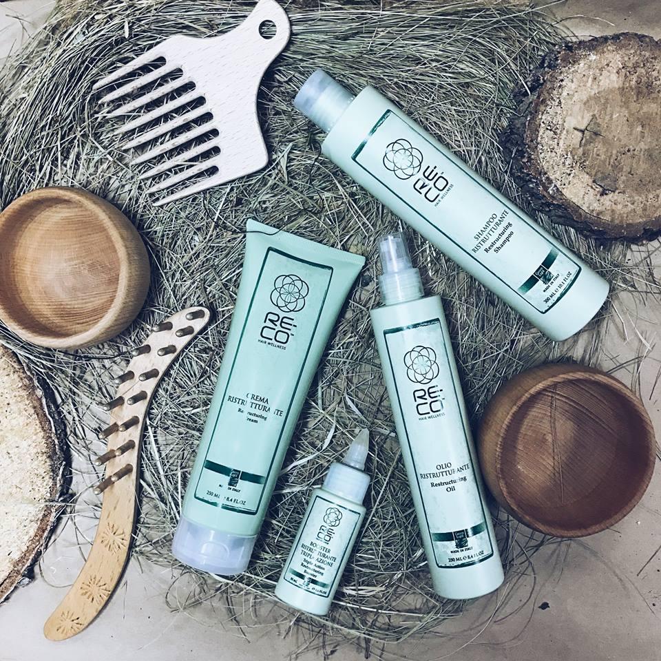 RE-CO HAIR WELLNESS: программа реконструкции волос от бренда Green Light