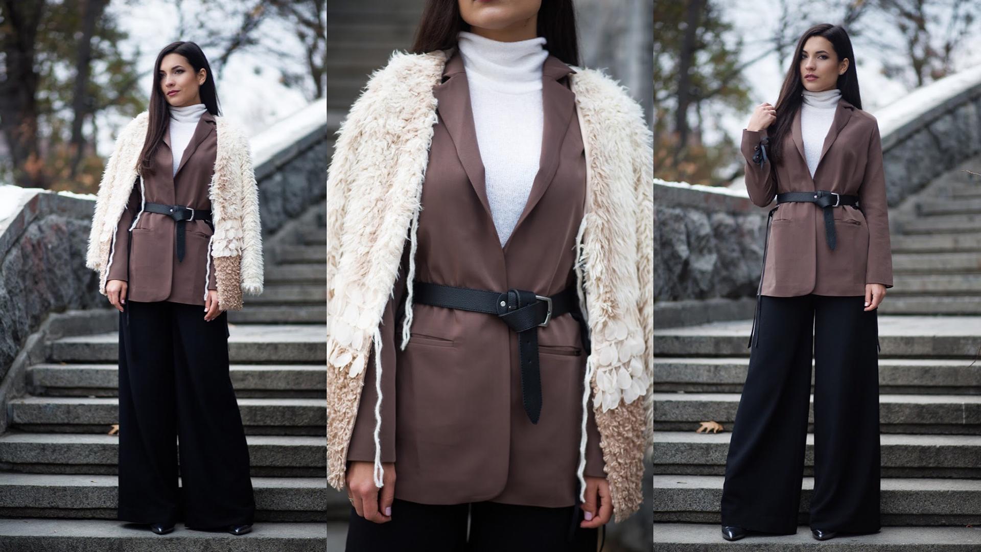Многослойность зимой: как создать стильный лук