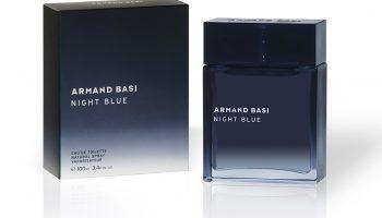 Свежий и теплый Armand Basi Night Blue: новый мужской аромат