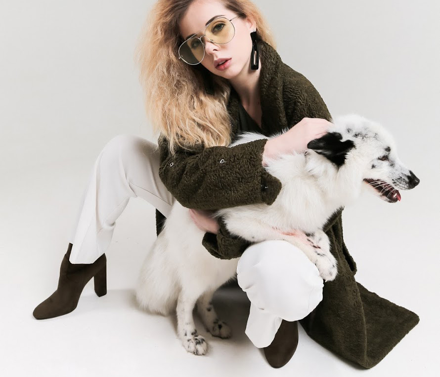 Коллекция пальто из искусственного меха SOLH