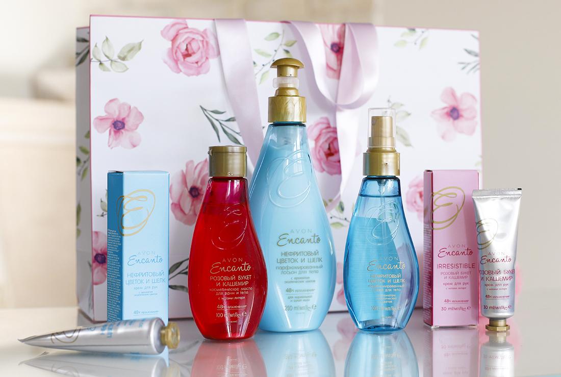 Avon Encanto представляет две коллекции – Нефритовый цветок и шелк