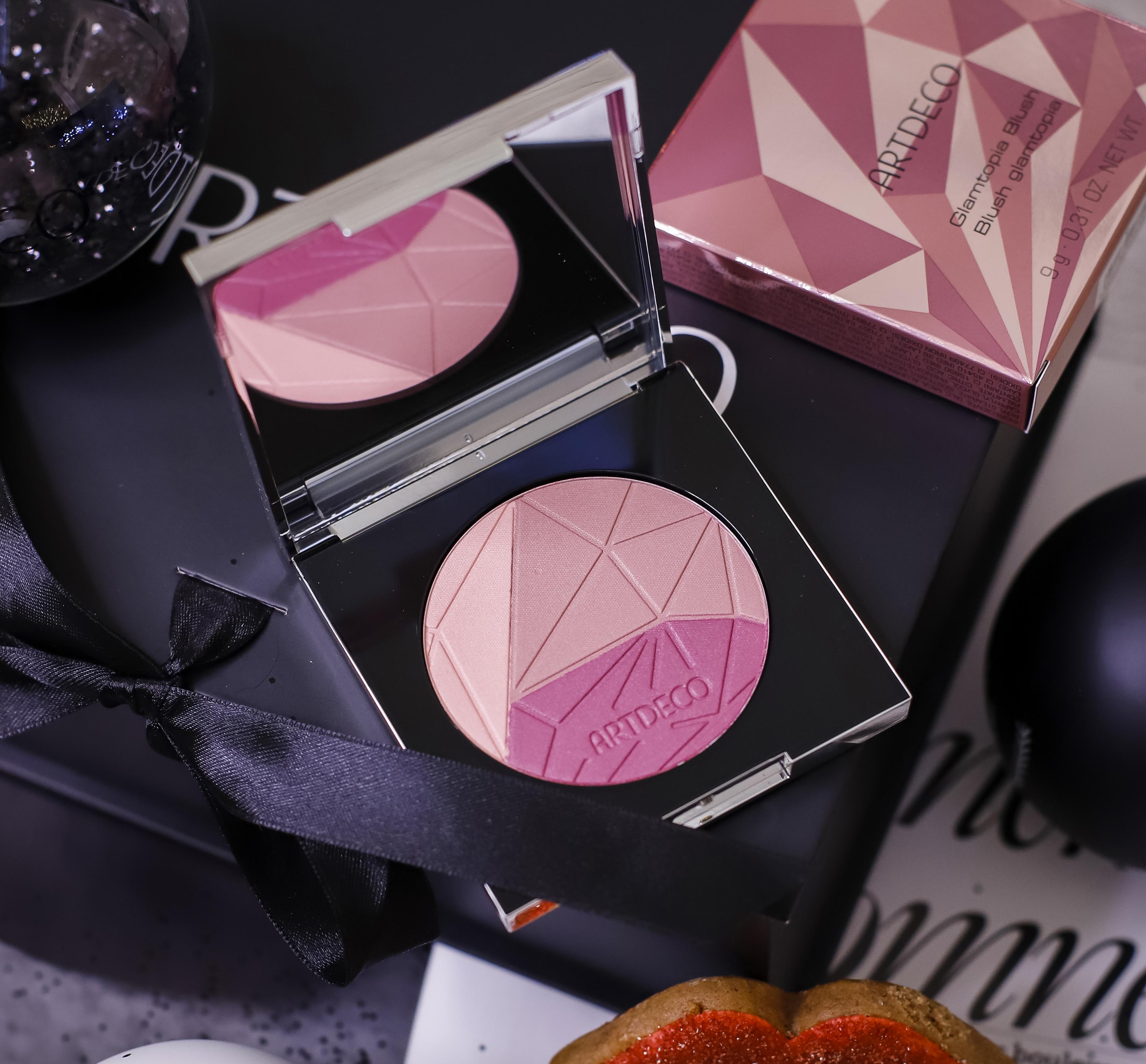 Праздничный макияж зимними новинками ARTDECO GLAMTOPIA