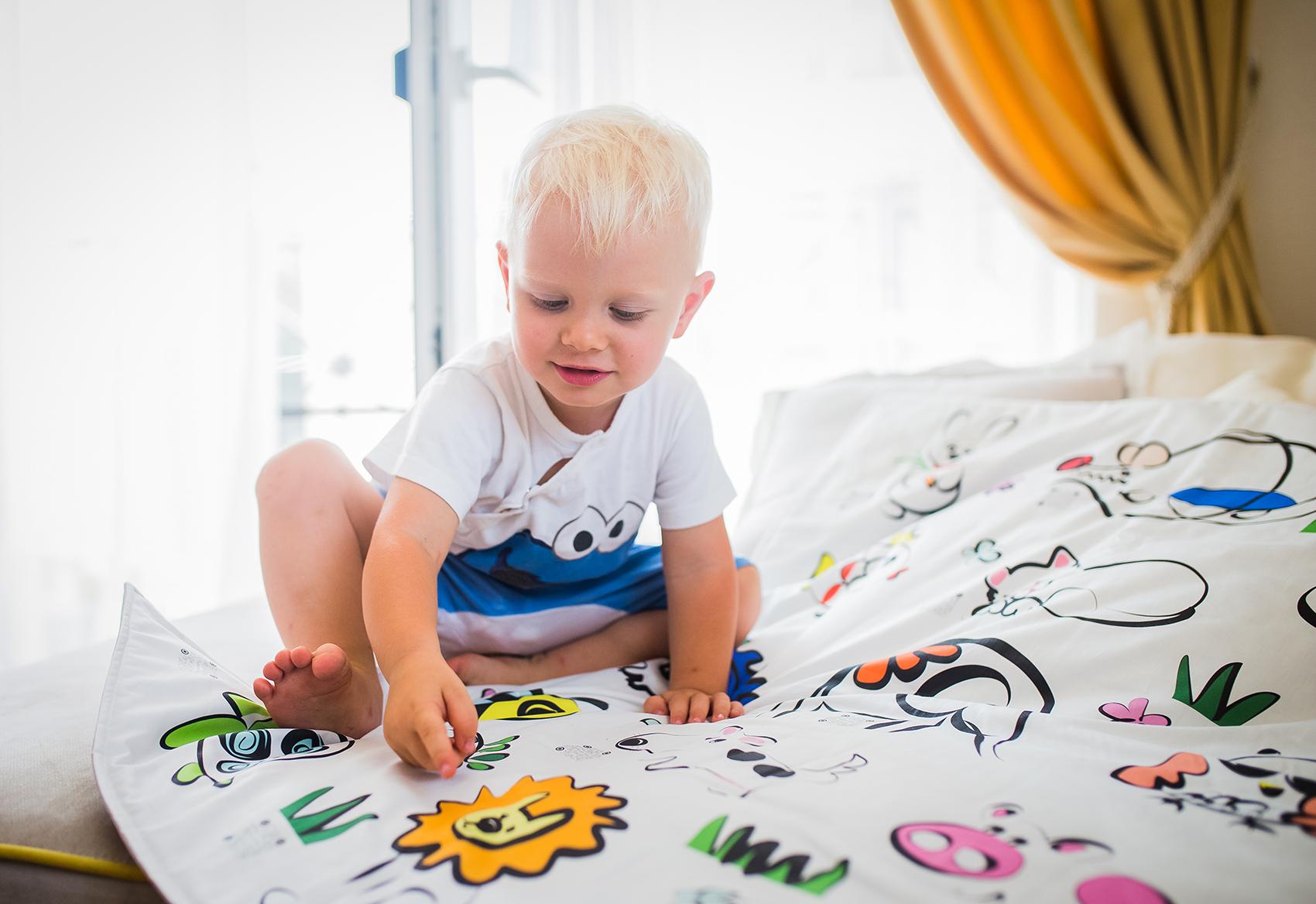 Kajka - говорящее постельное белье для деток