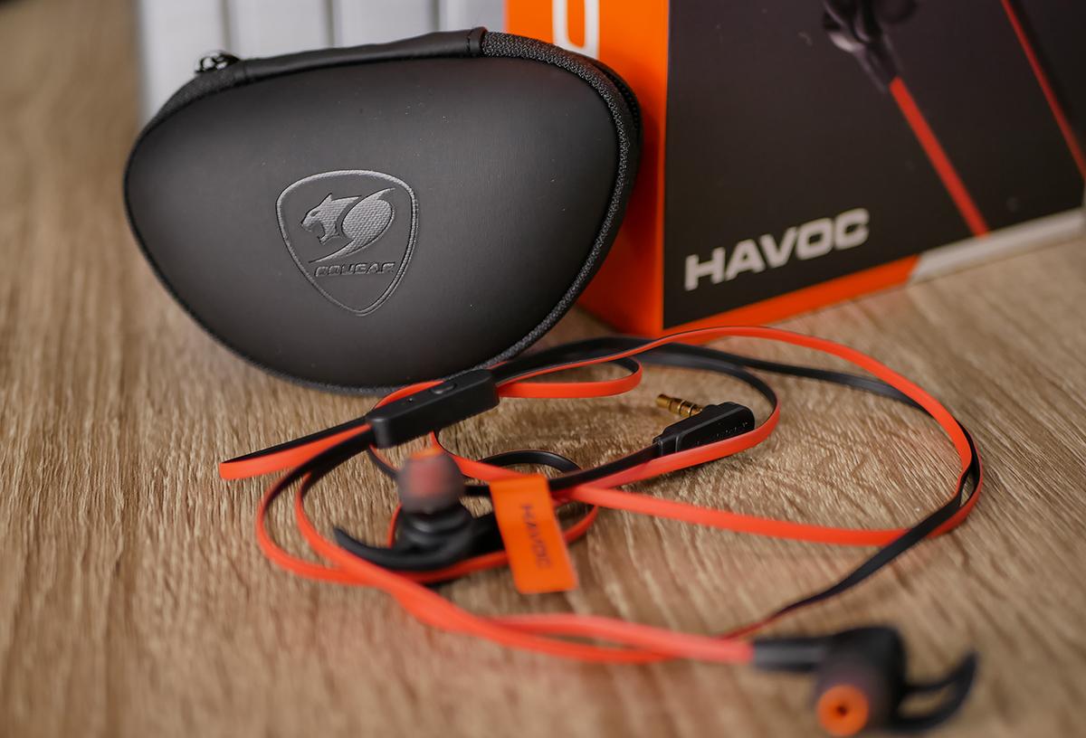 Cougar Havoc: игровые наушники для смартфона и не только