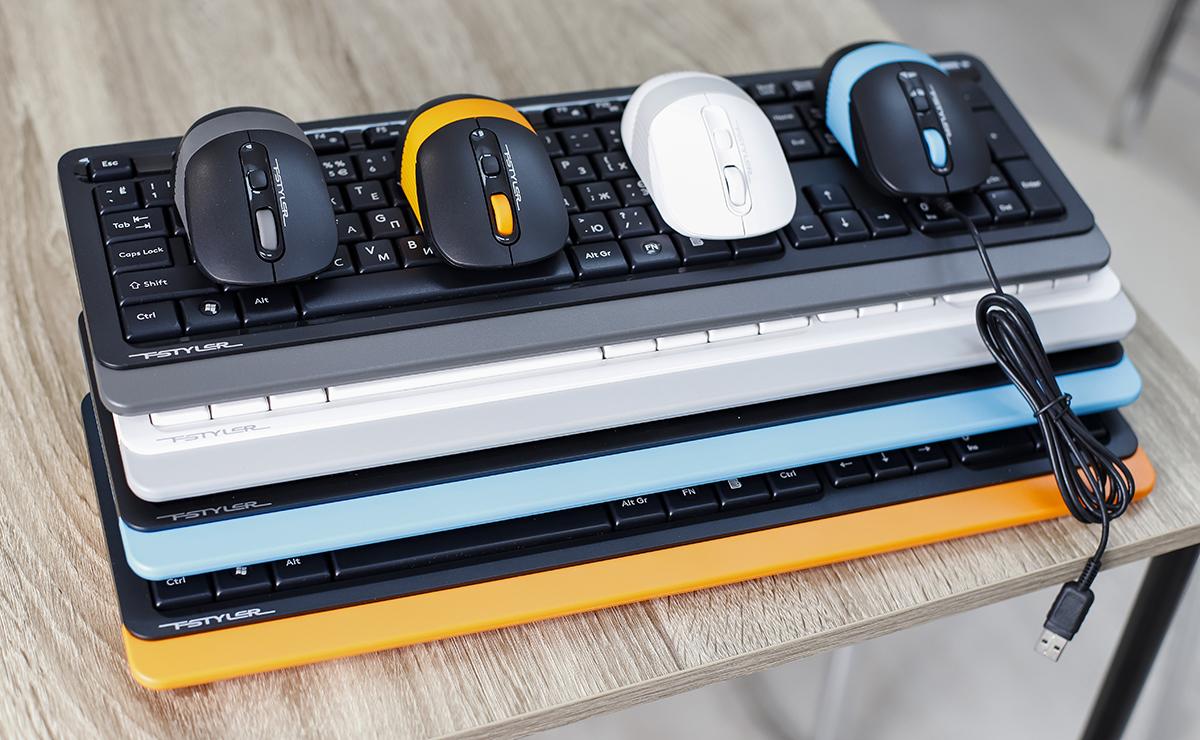Украшение стола: беспроводные комплекты A4Tech FM1010 и FG1010