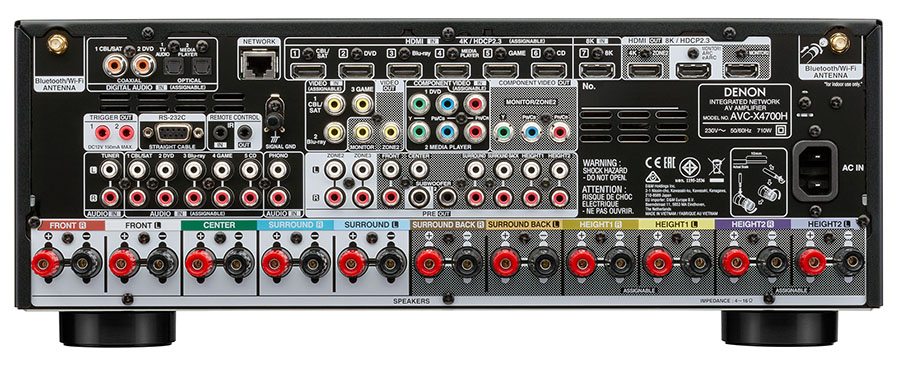 Denon представил AV-усилители с поддержкой 8K
