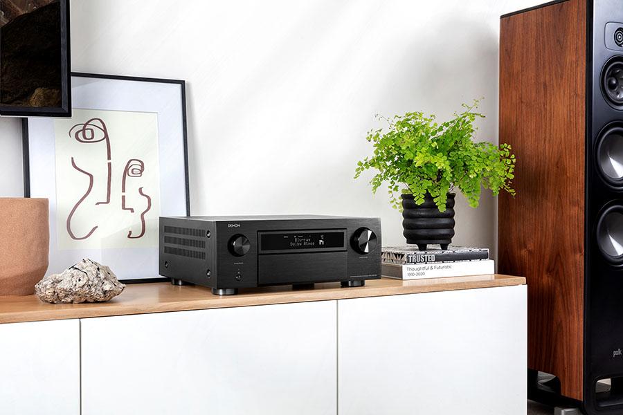 Denon представляет первые на рынке AV-ресиверы